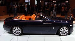 En direct : Rolls-Royce Dawn