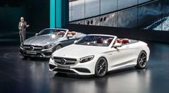Une Mercedes Classe S à ciel ouvert, avec la version Cabriolet