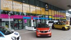 Les Smart électriques rouleront avec un moteur Renault