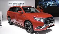Le Mitsubishi Outlander PHEV restylé s'expose