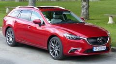 Essai Mazda 6 2015 : subtiles retouches et enfin 4x4