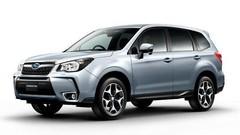 Le Subaru Forester restylé s'échappe sur la toile