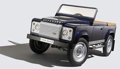 Un concept de Land Rover Defender à pédales !