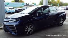 J'ai conduit la Mirai, la Toyota à hydrogène