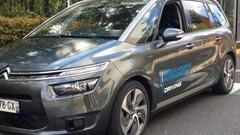 Voiture autonome : des Citroën C4 Picasso sans conducteur circulent en région parisienne