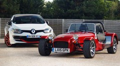 Essai Caterham 275 vs Megane RS 275 : Antinomie