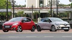 Essai Peugeot 208 restylée vs Renault Clio 4 : Le combat des chefs