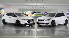 Essai Honda Civic Type R vs Peugeot 308 GTi, le match !