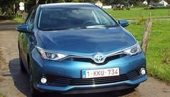 Prise en mains Toyota Auris hybride