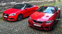 Essai BMW 228i Cabrio vs Audi A3 Cabrio 1.4TFSI: Et vous, vous êtes plutôt anneaux ou haricots?