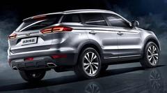 Le chinois Geely présente le SUV « Bo Yue »