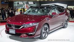 Honda FCX Clarity, une pile à combustible ultra compacte