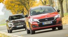 Essai comparatif : la nouvelle DS4 Crossback défie le Mercedes GLA !