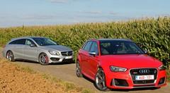 Essai Audi RS3 vs Mercedes CLA Shooting Brake AMG : Gros cœurs, gros coffres ?