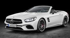 Mercedes SL 2016 : un nouveau visage au salon de Los Angeles 2015