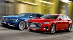 Volvo V90 contre future Audi A6 Avant : Duel de gros bras