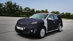 Au volant du Kia Niro, le futur SUV hybride du constructeur coréen