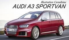 Un monospace Audi en 2018 !