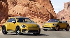 Volkswagen Beetle Dune Et Beetle Cabriolet Dune 2016 La Beetle Prête Pour L'Aventure Avec Ou Sans Toit