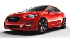 Subaru Impreza Sedan Concept : esprit sportif