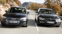 Essai Audi A4 2.0 TDI face à la BMW 320d