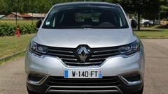 Le Renault Espace élu taxi de l'année 2015/2016
