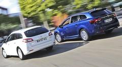 Essai Peugeot 508 SW 2.0 BlueHDi 150 vs Toyota Avensis TS 143 D-4D : Les pros de la route