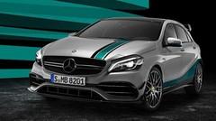 Mercedes célèbre ses titres en F1 avec une A 45 AMG spéciale