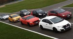 La sportive de l'année est la Honda Civic Type R