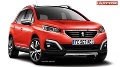 Restylage Peugeot 2008 : Plus viril