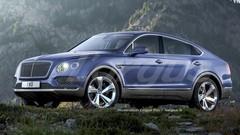 Bentley Bentayga : une version coupé attendue au salon de Genève 2016