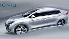 Hyundai : l'Ioniq se dessine progressivement