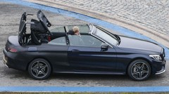 Mercedes Classe C Cabriolet : Déshabillage en phase finale