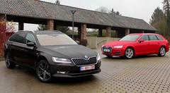 Essai Audi A4 Avant vs Skoda Superb Combi : La taille, ça compte ?