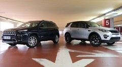 Essai Jeep Cherokee vs Land Rover Discovery Sport : Les piliers