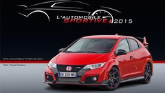 L'Automobile Sportive de l'année 2015 est la Honda Civic Type R