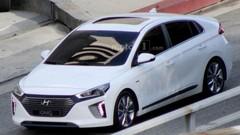 Hyundai Ioniq définitive en tournage