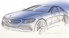 Teaser Mercedes Classe E 2016 : la future Classe E se dévoile en vidéo