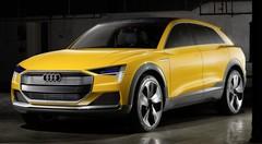 Audi h-tron quattro concept, le SUV à hydrogène