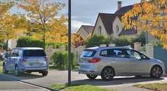 Essai BMW Gran Tourer 216d vs Citroën Grand C4 Picasso BlueHDi 120 : BMW à l'école des grands