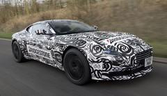 Aston Martin DB11 : nouvelles photos en fuite