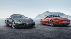 Porsche 718 Boxster : 4-cylindres et jusqu'à 350 ch