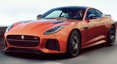 Jaguar F-Type SVR : La F-Type SVR montre ses muscles