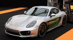 Porsche Cayman E-Volution (2016) : en première mondiale à Paris !