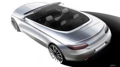 Mercedes : 1er croquis de la Classe C Cabriolet