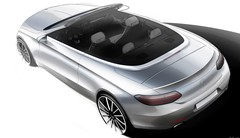 Teaser pour la Mercedes Classe C cabriolet