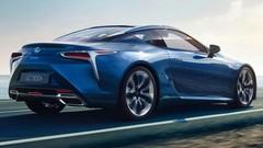 Lexus LC500h : coupé et hybride