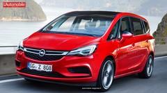 Restylage Opel Zafira : L'Opel Zafira restylé perd ses défenses