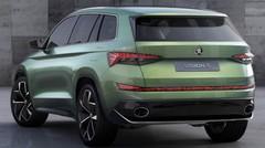 Skoda aura son grand SUV. Et deux petits en sus