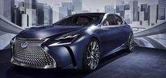Le concept LF-FC préfigure une Lexus LS à pile à combustible